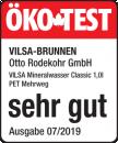 ÖKO-TEST 2019 Sehr gut Siegel