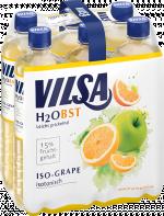 Sixpack VILSA H2Obst Iso-Grape PET 0,75l
