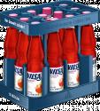 Kasten mit VILSA H2Obst Apfel-Kirsche PET 0,75l