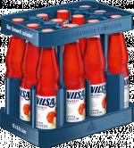 Kasten mit VILSA H2Obst Apfel-Kirsche PET 0,5l