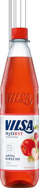 VILSA H2Obst Apfel-Kirsche PET 0,75l
