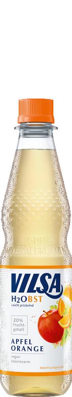 VILSA H2OBST Apfel-Orange rPET 0,5l