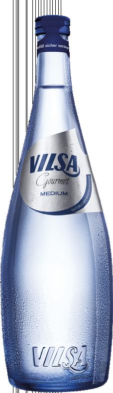 VILSA Mineralwasser Gourmet classic Glas 0,75l