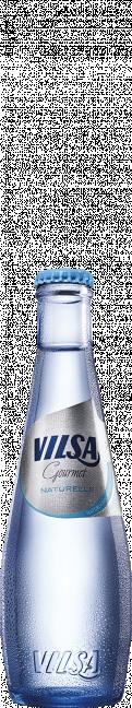 VILSA Mineralwasser Gourmet Naturelle Glas 0,25l