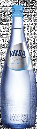 VILSA Mineralwasser Gourmet naturelle Glas 0,75l