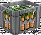 Kasten mit VILSA Orange Glas 0,25l