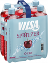 Sixpack mit VILSA Spritzer Cherry 0,75l