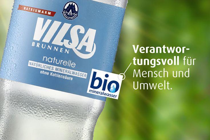VILSA Genießerflasche Naturelle Detailansicht