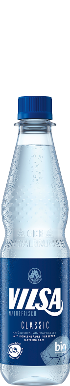 VILSA Mineralwasser classic PET 0,5l