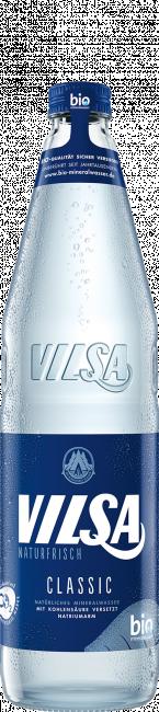VILSA Mineralwasser classic Glas 0,7l
