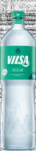 VILSA Genießerflasche Mineralwasser medium