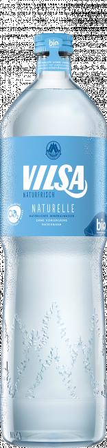 VILSA Genießerflasche Mineralwasser naturelle