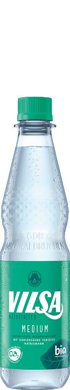 VILSA Mineralwasser medium PET 0,5l