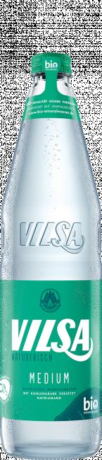 VILSA Mineralwasser medium Glas 0,7l
