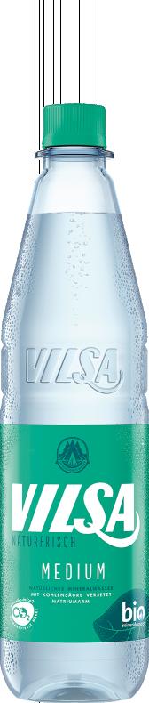 VILSA Mineralwasser medium PET 0,75l