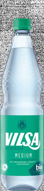 VILSA Mineralwasser medium PET 1,0l