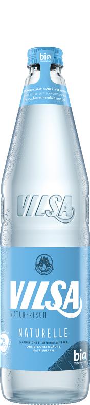 VILSA Mineralwasser Naturelle Glas 0,7l