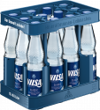 Kasten mit VILSA Mineralwasser classic PET 0,5l
