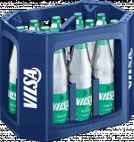 Kasten mit VILSA Mineralwasser medium Glas 0,7l