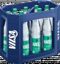 Kasten mit VILSA Mineralwasser medium Glas 0,75l