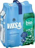 Sixpack VILSA Mineralwasser Naturelle rPET 0,75l