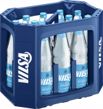 Kasten mit VILSA Mineralwasser Naturelle Glas 0,7l