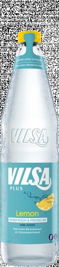 VILSA Mineralwasser Lemon Glas 0,7l
