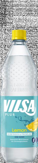 VILSA Mineralwasser Lemon PET 1,0l