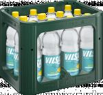 Kasten mit VILSA Mineralwasser Lemon PET 1,0l