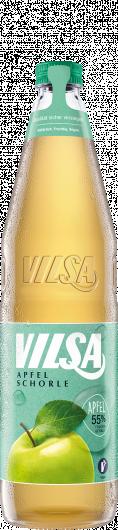 VILSA Apfelschorle Glas 0,70l
