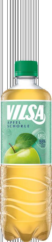 VILSA Apfelschorle rPET 0,75l