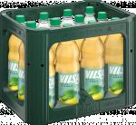 Kasten mit VILSA Apfelschorle PET 1,00l