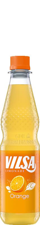 VILSA Limonade Orange PET 0,5l