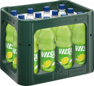 Kasten mit VILSA Limonade Limette PET 1,0l