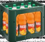 Kasten mit VILSA Limonade Orange-Mango PET 1,0l