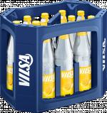 Kasten mit VILSA Limonade Zitrone Glas 0,7l