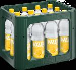 Kasten mit VILSA Limonade Zitrone PET 1,0l