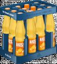 Kasten mit VILSA Limonade Orange PET 0,5l
