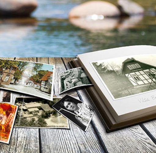 Fotoalbum und alte Fotos aus der Firmengeschichte von VILSA