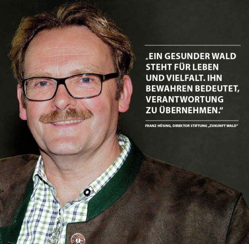"""Portrait von Franz Hüsing, Direktor Stiftung """"Zukunft Wald"""""""