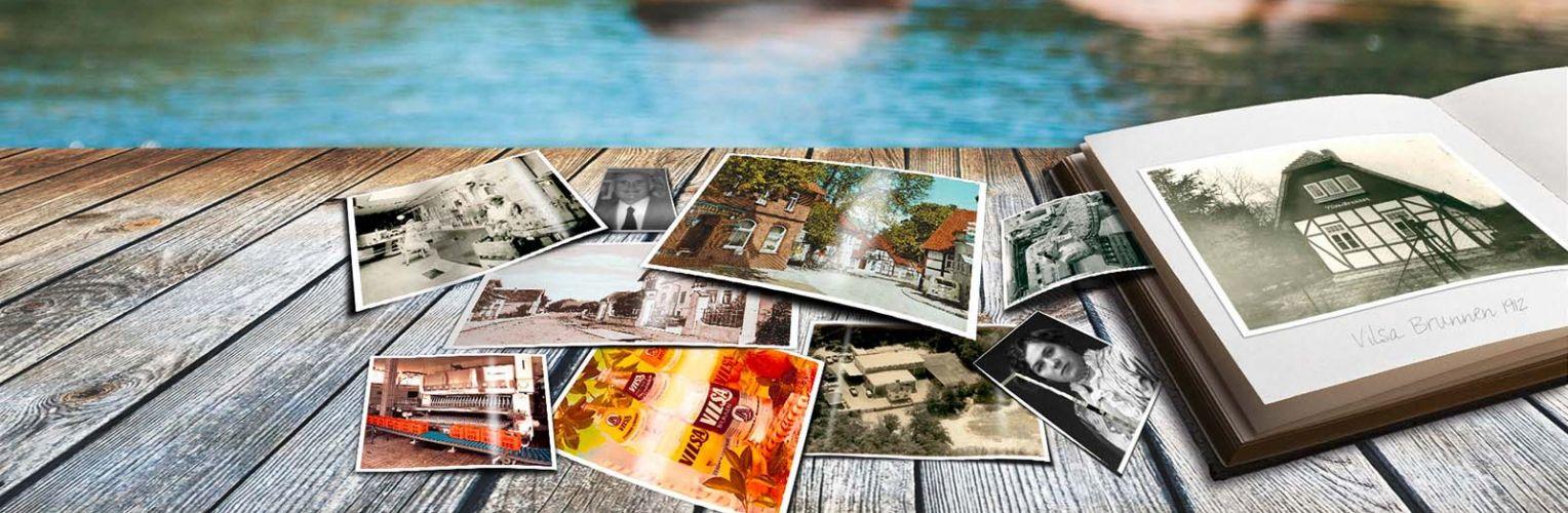 Fotoalbum und alte Bilder aus der VILSA Geschichte