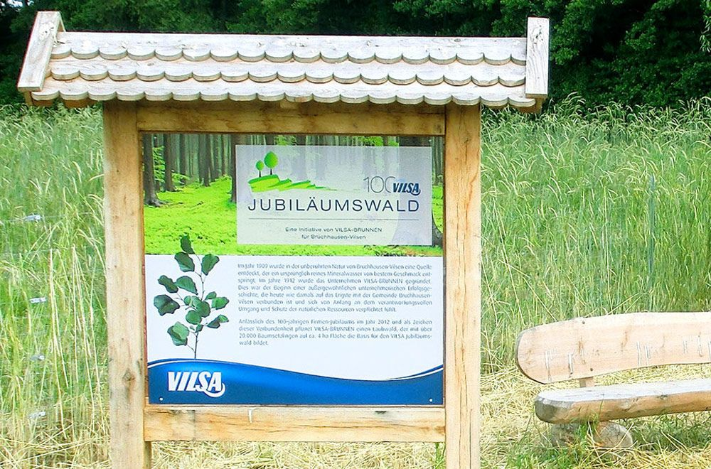 Der VILSA Jubiläumswald