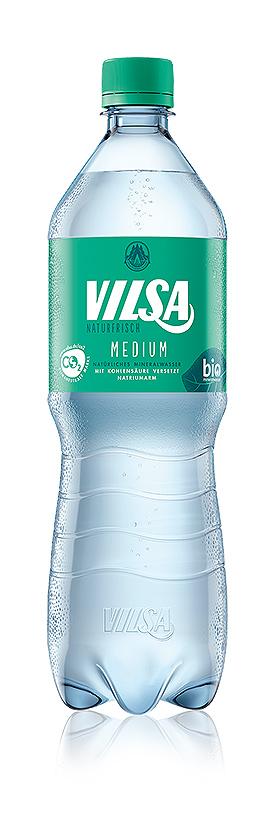 VILSA Mineralwasser medium rPET